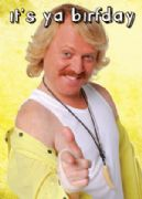 Keith Lemon 'It's Ya Birfday' Birthday Card